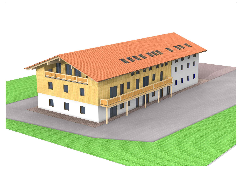3D Wohnungsbau 20003000